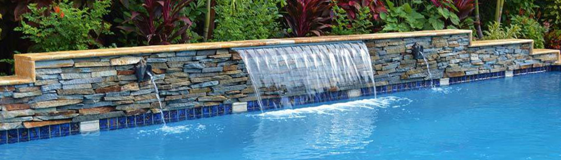 Waterfalls Photo Gallery Sunsational Pools Spas Inc